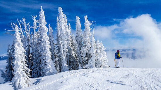 Tamarack Skiing